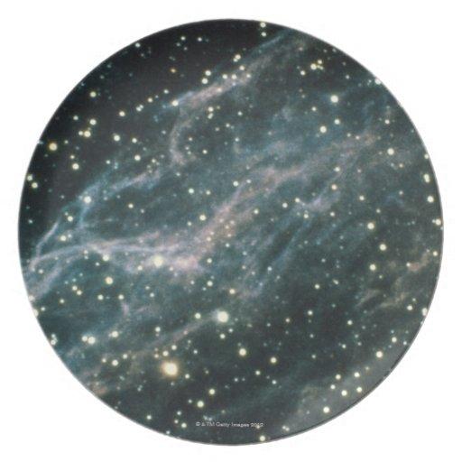 Nebula in Cygnus Party Plates
