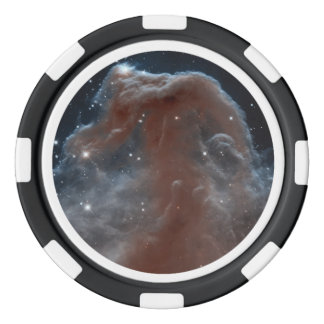 Nebula in shape of Horsehead in Pink Poker Chip Set