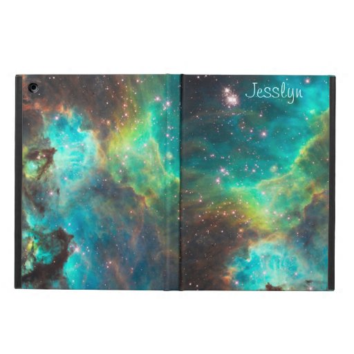 Nebula in Turquoise iPad Air Powis Case iPad Air Covers