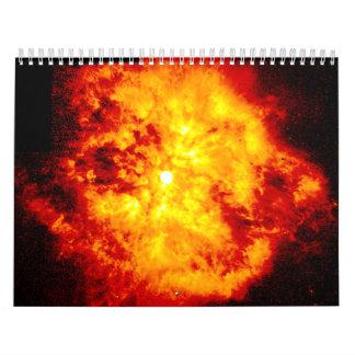 Nebula M1-67 around Star WR124 Wall Calendar