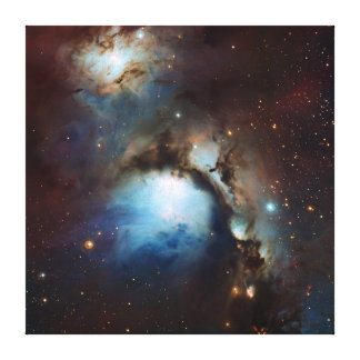 Nebula Messier 78 Space Astronomy Canvas Print