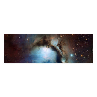 Nebula Messier 78 Space Astronomy Mini Business Card