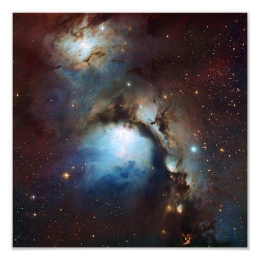 Nebula Messier 78 Space Astronomy Photograph