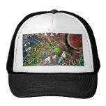 """Nebula"" -MikeHooper Custom Trucker Hat-$22.45"