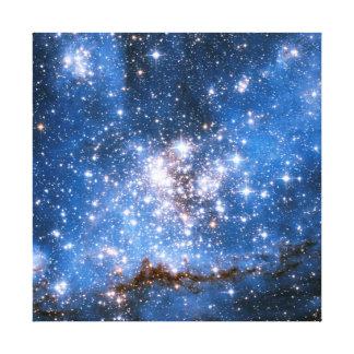 Nebula NGC 346 Infant Stars - Hubble Space Photo Canvas Print