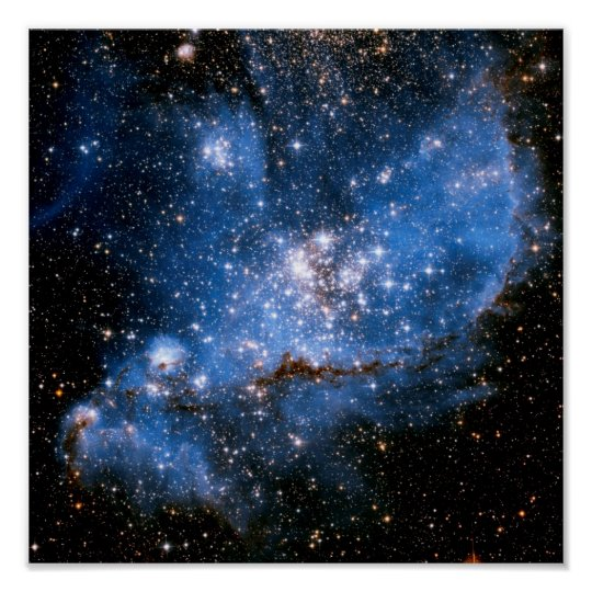 5f72a026a Nebula NGC 346 Infant Stars - Hubble Space Photo Poster