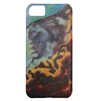 Nebula painting iPhone case art by Joyce Brandon iPhone 5C Case