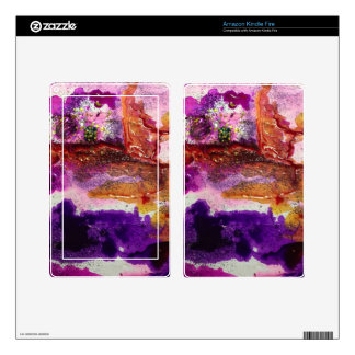 Nebula Painting Series Decal For Kindle Fire