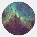 Nebula.pdf Round Stickers