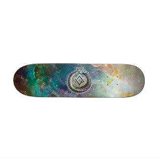 Nebula Rider Skateboard Deck