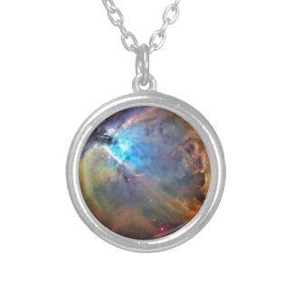Nebula Round Pendant Necklace