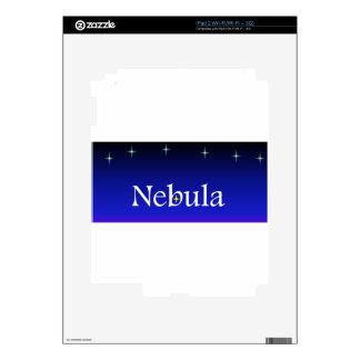 Nebula Society Decal For The iPad 2