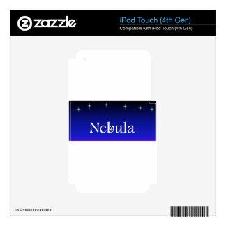 Nebula Society iPod Touch 4G Skin