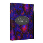 Nebula Space Explosion Monogram iPad Folio Case