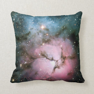 Nebula stars galaxy hipster geek cool nature space throw pillow