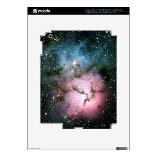 Nebula stars galaxy hipster geek cool nature urban skins for iPad 3
