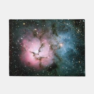 Nebula stars galaxy hipster geek cool space scienc doormat