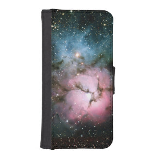 Nebula stars galaxy hipster geek cool space scienc iPhone SE/5/5s wallet case