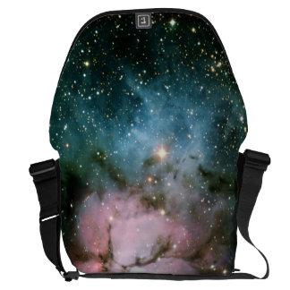 Nebula stars galaxy messenger bag