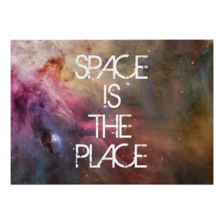 Nebula stars Orion galaxy hipster geek cool space Poster