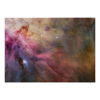 Nebula stars Orion galaxy hipster geek space scien Poster