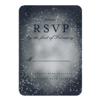 nebula stormy sky RSVP Card