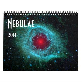 Nebulae 2 2014 Space Astronomy Calendar