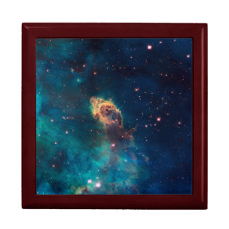 Nebulae Photo by Hubble Telescope Keepsake Box