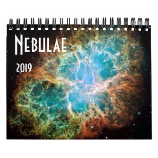 Nebulae Space Astronomy 2019 Stars NASA Calendar