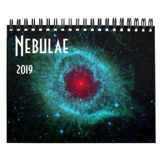 Nebulae Space Astronomy 2019 Universe NASA Calendar