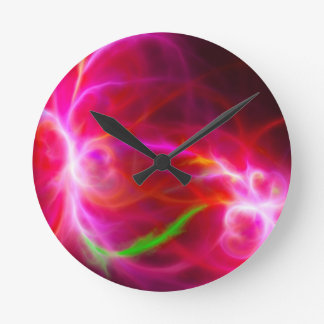 NebulaNine Round Clock