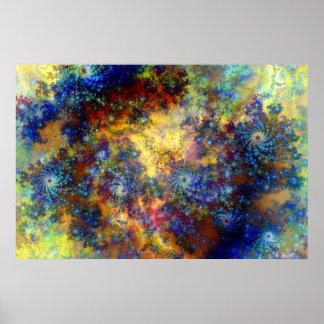 Nebular Delight Poster