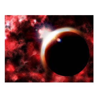 Nebula's Fire Postcard