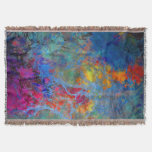 Nebulica Red and Blue Throw