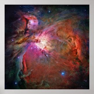 Nebulosa 42x42 (30x30) de Orión Póster