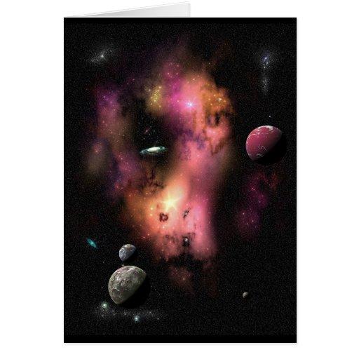 Nebulosa 5C-133-C Tarjeta De Felicitación