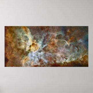 Nebulosa 78x38 extremo (99x48) de Carina Poster