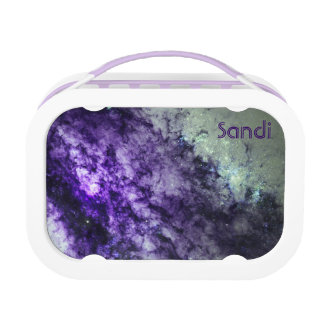Nebulosa Amethyst en fiambrera del espacio