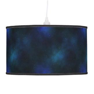 Nebulosa azul de medianoche lámpara de techo