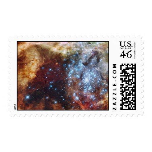 Nebulosa brillante 30 Doradus del arco iris Franqueo