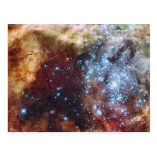 Nebulosa brillante 30 Doradus del arco iris Postal