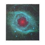 Nebulosa colorida de la hélice bloc de papel