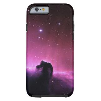 Nebulosa colorida del horsehead funda de iPhone 6 tough