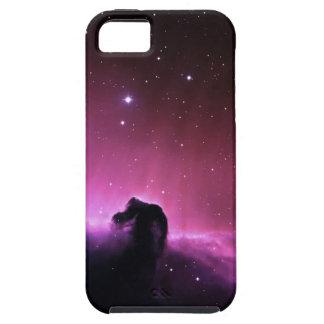 Nebulosa colorida del horsehead iPhone 5 carcasas