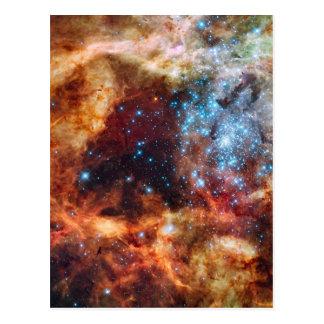 Nebulosa colorida del Tarantula Postal