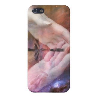 Nebulosa con la cruz iPhone 5 carcasa
