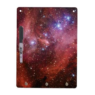 Nebulosa corriente del CEN de la lambda de la nebu Pizarras Blancas De Calidad