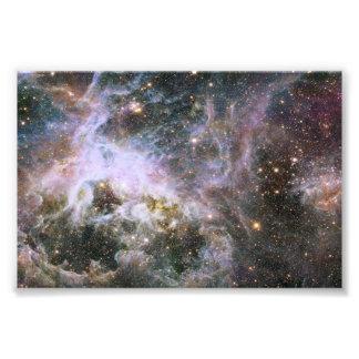 Nebulosa cósmica del Tarantula del bicho Impresiones Fotograficas