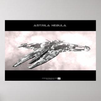 Nebulosa de Astrila Poster