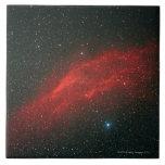 Nebulosa de California Azulejo Cuadrado Grande